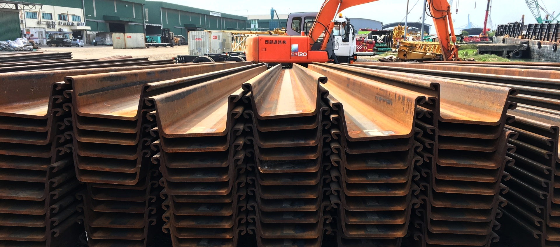 FSP Hot Rolled Sheet Piles
